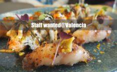 バレンシアで和食レストランのキッチン&ホールスタッフ募集中。