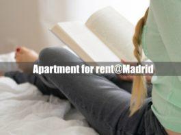 マドリードのアパート貸し出し。